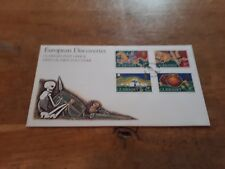 Guernsey FDC 1994 european discoveries