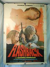Flashback manifesto poster Robsham Castel Dal Sasso Gallotti drammatico gun