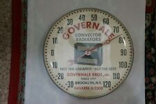 Vintage pam advertising Thermometr Governale radiators. In original box.