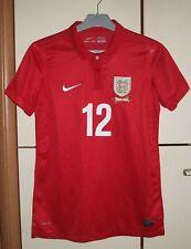 England 2013 - 2014 Away Women's football shirt jersey player issue Nike size M
