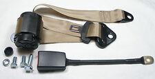 Colore marrone chiaro delle automatico a 3 punti cintura di sicurezza FIAT 124 berlina, special, New SEATBELT