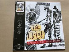 The clash Radio Clash From Tokyo - Clear Vinyl lp rare live show punk coda label