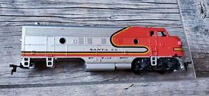 HO Diesel Locomotive Shell Car Body Santa Fe Red
