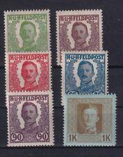 Österreich Feldpost IV, V, VI, VII, XII, XIV, *