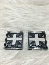 2 Rimmel Glam'Eyes HD Quad Eye Shadow 001 Black Cab Bs04