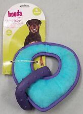 Petmate Booda Tuff 'N Tuffer Plush + Rubber Dog Toy