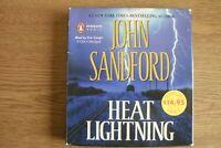 John Sandford - Heat Lightning (CD-Audio) . FREE UK P+P ........................