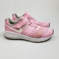 Girl's NIKE 'Star Runner' Sz 1  US Runners Pink Kids ExCon | 3+ Extra 10% Off