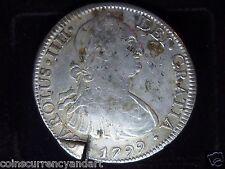 1799 Mexico 8 Reales Shipwreck Silver Coin - PILLAR DOLLAR