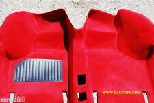 FIAT 126 PERSONAL  MOQUETTE TAPPETO INTERNO ROSSA PREFORMATO Moulded Carpet red