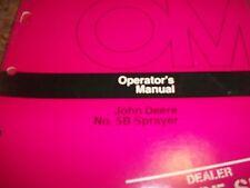 John Deere Operator'S Manual No. 5B Sprayer
