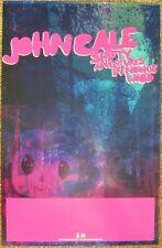 JOHN CALE Album POSTER Shifty Adventures In Nookie Wood 2Side VELVET UNDERGROUND