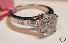 Auction: JEFF COOPER 0.62CT DIAMOND RING G VS1 PLATINUM  3101