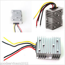 Vehicles Volt Converter Regulator DC12V Step Up to 24V-10A 240W Power Supply Kit