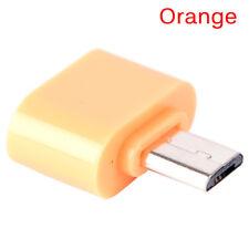 10PCS Mini Micro USB macho a USB 2.0 adaptador femenino OTG convertidorSE