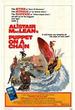 """16mm Feature """"PUPPET ON A CHAIN (1971)  ALISTAIR MACLEAN Barbara Parkins"""