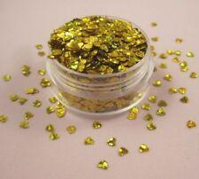 Decoración de color principal oro de plástico para uñas