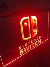 NINTENDO SWITCH Sign for Game Room,Office,Bar,Man Cave US SELLER.