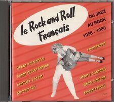 Cd. Le rock and roll Français. Du Jazz au rock.1956-1960.  P1993. French ROCK