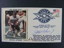 Jim McMahon Autographed Signed Gateway Silk Cache Envelope 1986 Super Bowl Bears