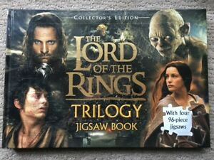 The Lord of the Rings Trilogy Jigsaw Book Hardcover * Complete* as new.