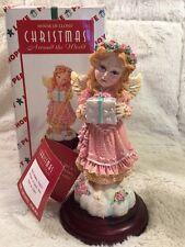"Nib House Of Lloyd Christmas Around The World ""The Giving Angel"" Figurine Angel"