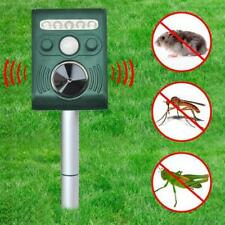 SOLAR Ultra Sonic Garden Deterrent Repeller Cat Dog Fox Bird Scarer Pest Control