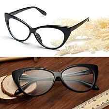 Black Eyeglasses Frames Glasses Eyewear Cat Eye Clear Lens FASHION DESIGNER