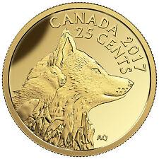 2017 Canada 25 cent 0.5 g Fine Gold Coin - Predator vs Prey: Inuit Arctic Fox