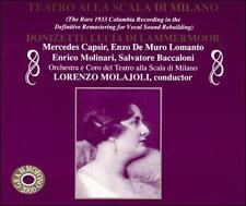 FREE US SHIP. on ANY 3+ CDs! USED,MINT CD : Donizetti: Lucia di Lammermoor [Audi