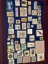 Lot Of 88 individual stamps! Plus alphabet stamps and make your own stamps!