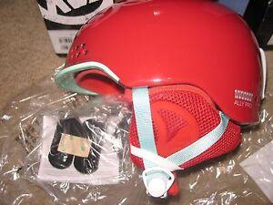 K2 Women's Ally Pro Helmet Womens.Small(51-55cm) Red.NWT.