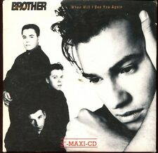 BROTHER BEYOND - WHEN WILL I SEE YOU AGAIN - CARD SLEEVE 3 INCH 8 CM CD MAXI