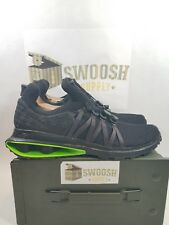 Nike Shox Gravity Luxe Men's Size 10 Shoes Black Green Strike AR1470 003