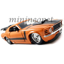 JADA BIGTIME 98030 1970 70 FORD MUSTANG BOSS 429 1/24 DIECAST MODEL CAR ORANGE