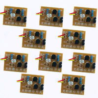 10pcs DIY Kit Light-Control Sensor Switch Suite For DIY Electronic Trainning
