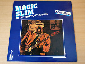 EX !! Magic Slim/In The Heart Of The Blues/1980 Isabel Records LP/French Issue