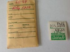 2 Rolex Wristwatch Stems Cal. 1210