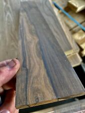 Stunning ZIRICOTE Fretboard 21.5 X 3 x .31 Milled in USA Contrasting colors