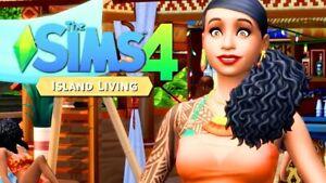 THE SIMS 4 ISLAND LIVING ORIGIN