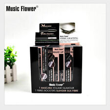 Music Flower Liquid Mascara Waterproof 24H Long Lasting Smudge-proof Quick Dry