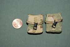 "1:6 Modern US Army Camo Gear Ammo Bags (Lot of 2) for 12"" Action Figures C-139"