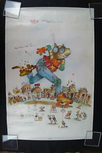 Vintage Easy does it... Cruisin' Gary patterson Poster original 1979