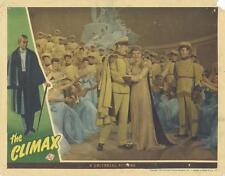 """THE CLIMAX""-ORIGINAL LOBBY CARD-SUSANNA FOSTER-CAST-UNIVERSAL-HORROR"