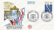 FRANCE 1982 FDC SOMMET PAYS INDUSTRIALISE YT 2214