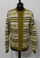 Damen-Pullover mit mittlerer Strickart und Knöpfen Norweger