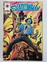 SHADOWMAN #0 (1993) VALIANT COMICS HTF REGULAR NON-FOIL WRAP AROUND COVER!