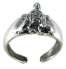 Cute Turtle Toe Ring Sterling Silver 925 Best Deal Adjustable Jewelry USA Seller