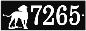 Address Number Sign. Aluminum plaque Large easy to read numbers, House or home.