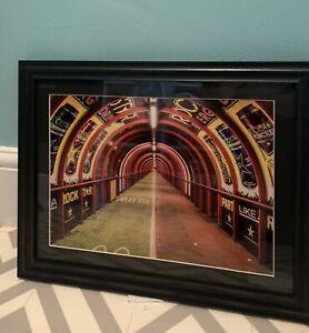 "Glasgow Framed Print (smartie Tube Bridge) 16"" X 12"""